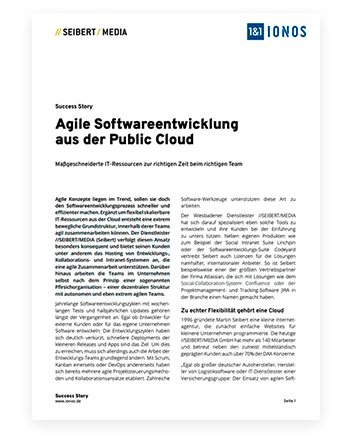 German document from Seibert Media
