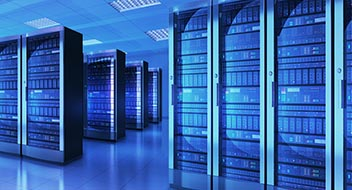 Data center; Server racks