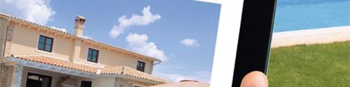 Rooftop of a Mediterranean villa