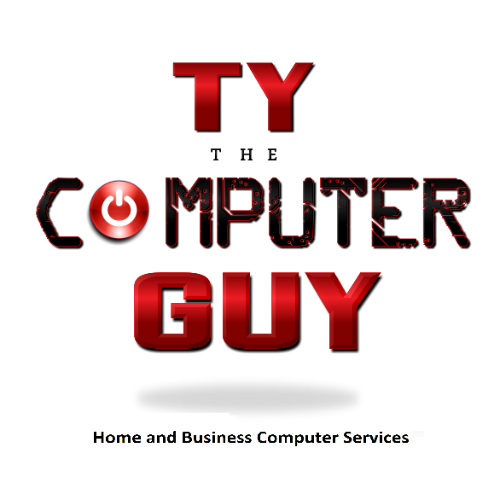 Ty the computer guy logo