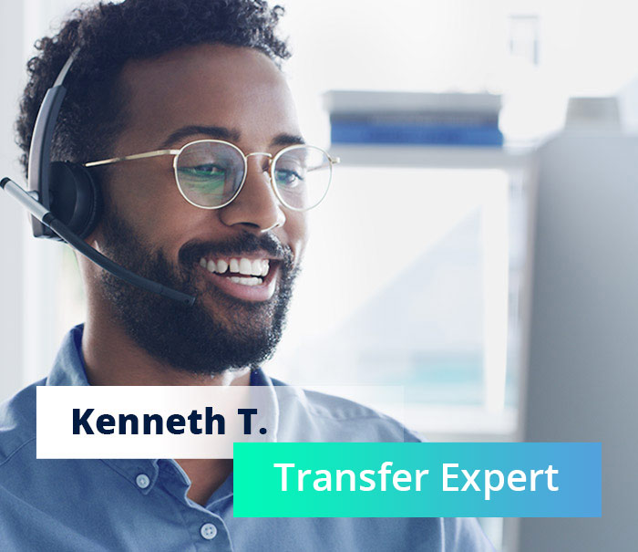 Cal or transfer exerts to transfer your domain