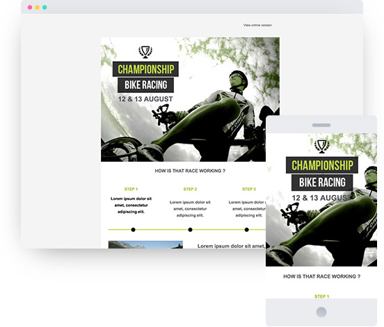 MyWebsite template for event website