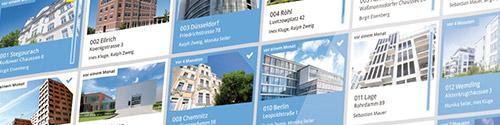 Collage de bienes raíces