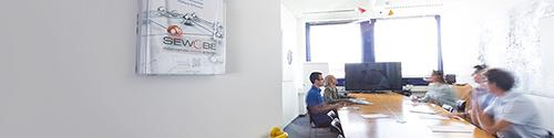Reunión del equipo en la oficina