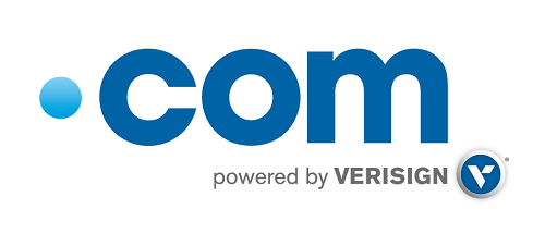 .com logo, powered by Verisign
