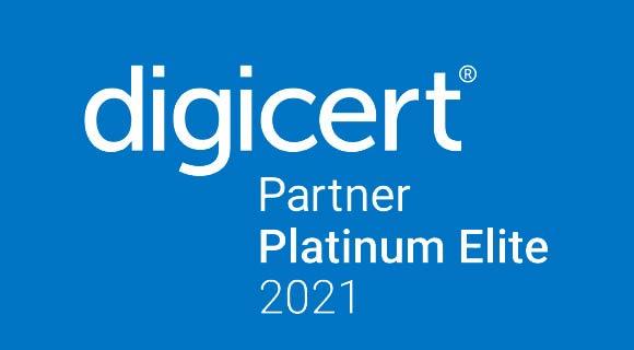 Digicert Partner Platinum Elite 2019 logo