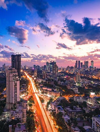 view of Mumbay-Dadar