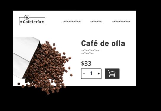 Tiendas online Cafeteria
