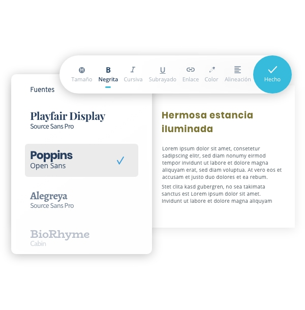 MyWebsite Now Editor Fonts