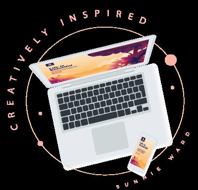 Creatively inspired agency logo