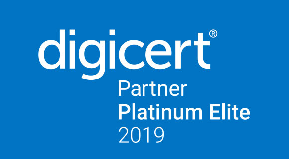 Digicert Partner Platinum Elite 2019 logo