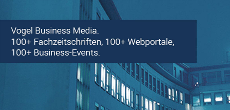 Vogel Business Media advertising banner