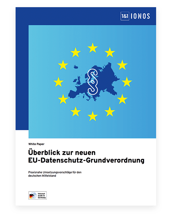 German document about the GDPR