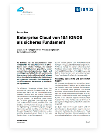 German document about the IONOS Compute Engine