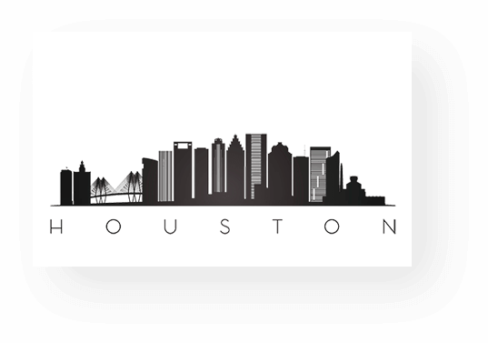skyline of Houston